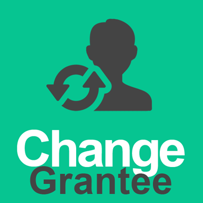 Change grantee or purchaser on Retention Certificate