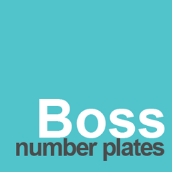boss number plates