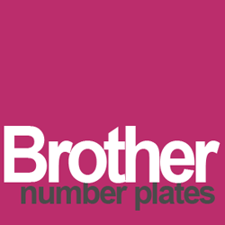 brother BRO number plates