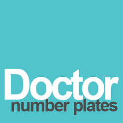 doctor number plates
