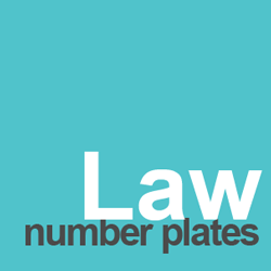 law number plates