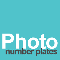 photo number plates