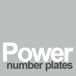 Power number plates