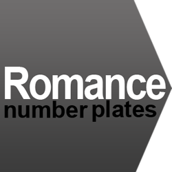 romantic number plate ideas