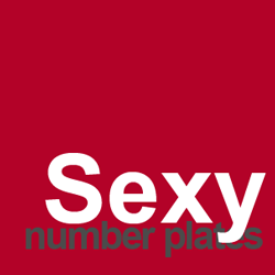 sexy number plates