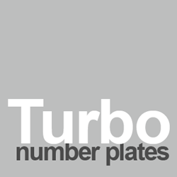 turbo number plates