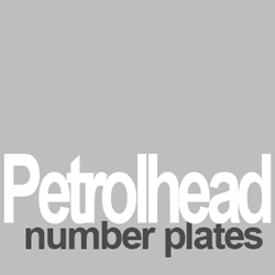 petrolhead number plates