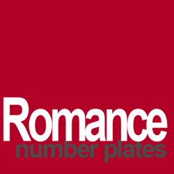 romance number plates