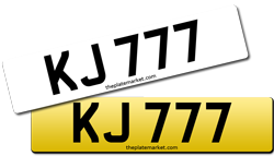 Swap number plates after assignment