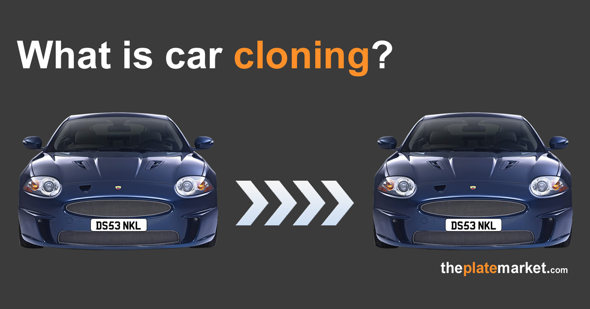 What is car and number plates cloning