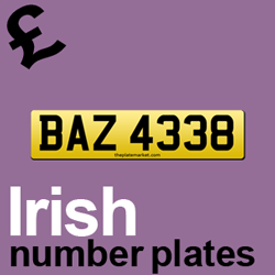private number plate ideas the plate market. Black Bedroom Furniture Sets. Home Design Ideas