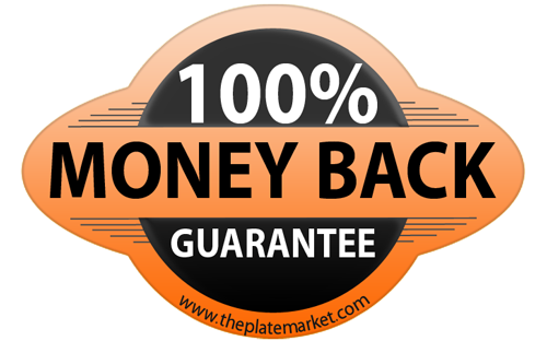private number plates money back guarantee