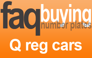 can i transfer private registration to Q registered vehicle