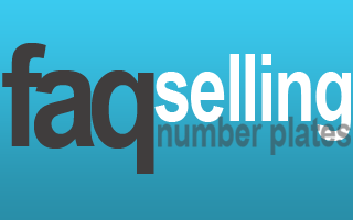 sell personalised number plates faq