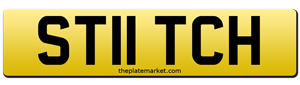 UK private number plate Stitch ST11TCH