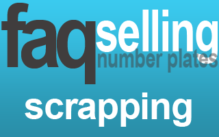 scrap car sell private number plate