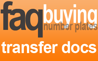 documents needed to transfer private number plate
