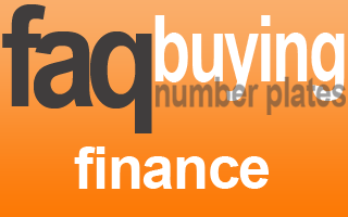interest free finance private number plate