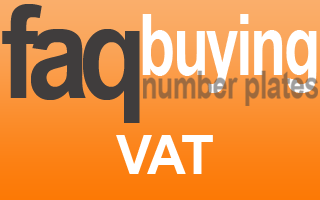 Why vat on some number plates