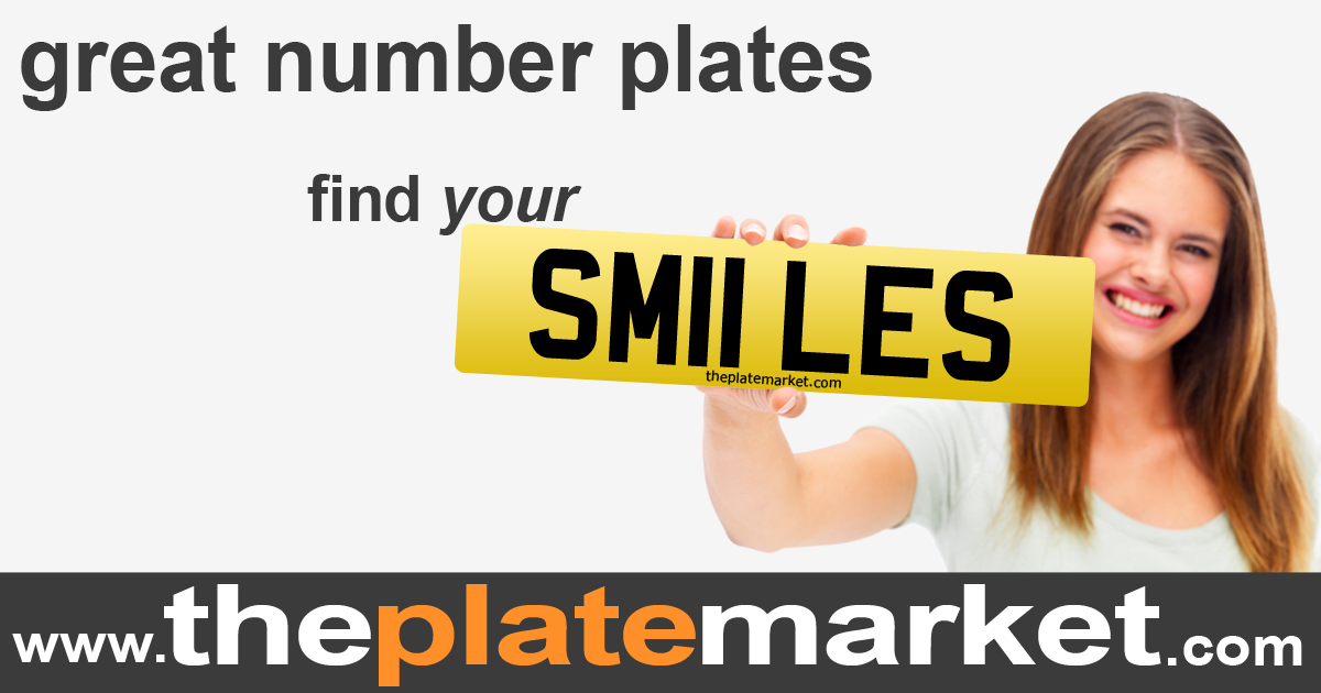 private number plates at The Plate Market